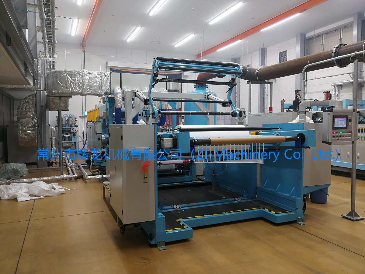 Perforated film production line
